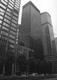 Rendering des Seagram Building